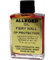 PSYCHIC OIL FIERY WALL OF PROTECTION