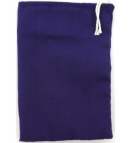 BAG CLOTH PURPLE 3x4""