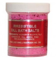 BATH SALTS IRRESISTIBLE WITH DILL SEEDS 4 oz. (113g)