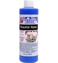 PEACEFUL HOME INDIO POWERFUL INDIAN SPIRITUAL BATH & FLOOR WASH  8 fl. oz. (236ml)