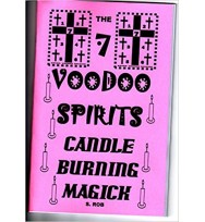 7 Voodoo Spirits Candle burning magick book