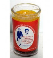 Make Opposing Lawyer Look Stupid Ritual Jar Candle