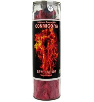 SCENTED PALM COCKTAIL CANDLE BE WITH ME NOW – RED