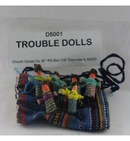 Trouble Dolls with Bag