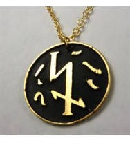 Gives Power Necklace (Gold) (Gold Necklace )
