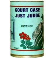 7 SISTERS INCENSE POWDER COURT CASE / JUST JUDGE 1 3/4oz (49g)