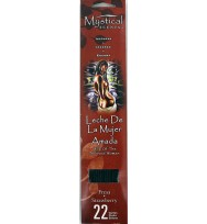 MILK OF THE BELOVED WOMAN INCENSE STICKS – STRAWBERRY 22 Sticks Per Pack, 9″ (22.86cm) Long