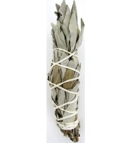 INCENSE SMUDGE STICK BUNDLE WHITE SAGE 4″ LONG (10.16cm)