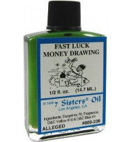 7 SISTERS OIL FAST LUCK / MONEY 1/2 fl. oz. (14.7ml)