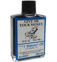 7 SISTERS OIL GIVE ME YOUR MONEY 1/2 fl. oz. (14.7ml)