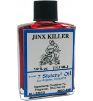 7 SISTERS OIL JINX KILLER 1/2 fl. oz. (14.7ml)