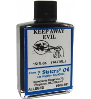 7 SISTERS OIL KEEP AWAY EVIL 1/2 fl. oz. (14.7ml)