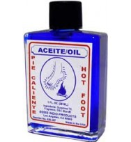 PSYCHIC OIL HOT FOOT 1 fl. oz. (29ml)