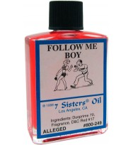 7 SISTERS OIL FOLLOW ME BOY 1/2 fl. oz. (14.7ml)