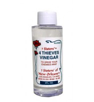 7 SISTERS OF NEW ORLEANS FOUR THIEVES VINEGAR 4 fl. oz. (118ml)