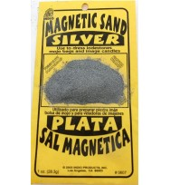 MAGNETIC SAND SILVER – LODESTONE FOOD 1 oz. (28.3g)