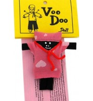 "VOODOO DOLL FEMALE 3 ½"" TALL"