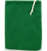 Green Cloth Bag With Drawstring