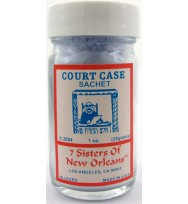 7 SISTERS OF NEW ORLEANS SACHET POWDER COURT CASE/JUST JUDGE 1oz (28.3g)