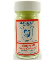 7 SISTERS OF NEW ORLEANS SACHET POWDER MAGNET 1oz (28.3g)