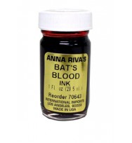 BAT'S BLOOD INK BY ANNA RIVA 1 fl. oz. (29.5ml)