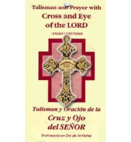 TALISMAN CROSS AND EYE OF THE LORD