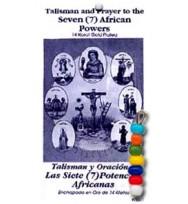 TALISMAN 7 AFRICAN POWERS BEADS