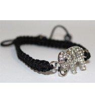 Good Luck Elephant Gemstone Bracelet