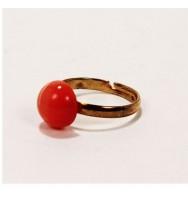 Job/Steady Work Gemstone Power Ring