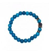 Money Buddha Gemstone Power Bracelet