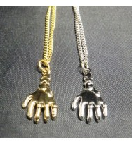 Pay Me Hand Necklace