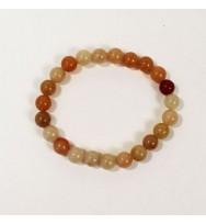 Coral Power Bead Bracelet
