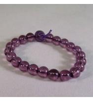 Purple Power Bead Bracelet