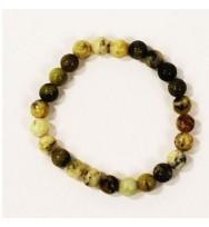 Serpentine Power Bead Bracelet