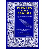 POWERS OF THE PSALMS BOOK – 375 WAYS TO USE PSALMS – ANNA RIVA 128 pages