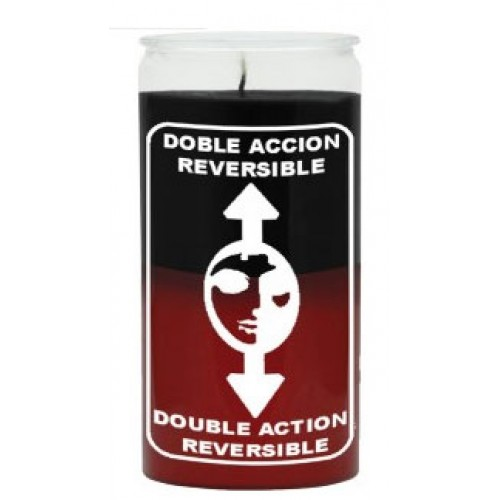 14 DAY CANDLE REVERSIBLE BLACK/RED