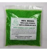 Green Money Drawing/Lucky Gamblers Triple Strength Bath and Sprinkling Salt