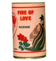 7 SISTERS INCENSE POWDER FIRE OF LOVE 1 3/4oz (49g)