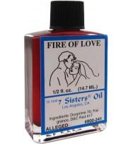 7 SISTERS OIL FIRE OF LOVE 1/2 fl. oz. (14.7ml)