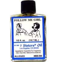7 SISTERS OIL FOLLOW ME GIRL 1/2 fl. oz. (14.7ml)