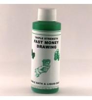 Fast Money Drawing Bubble Bath Liquid Soap