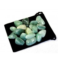 Zentron Crystal Collection 1/2 Pound Tumbled Green Aventurine
