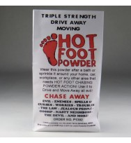6x Hot Foot Powder for Hoodoo, Voodoo, Wicca & Pagan Spells for $6.99 each