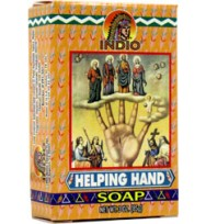 INDIO SOAP HELPING HAND 3 oz. (85g